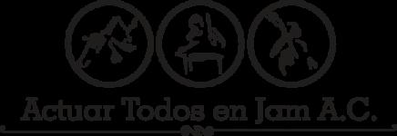 Actuar Todos en Jam A.C. Logo